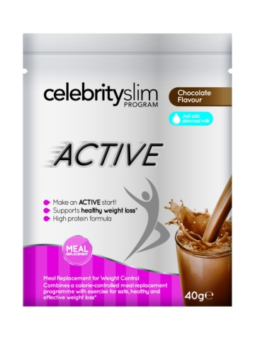 Celebrity Slim Active Single Sachet –cChocolate