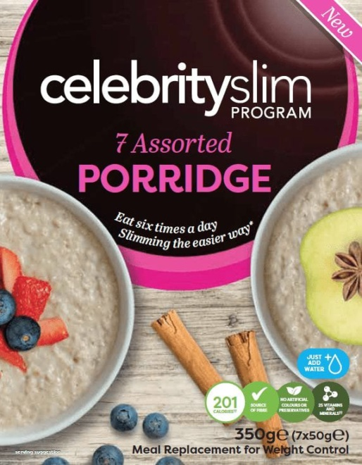 Celebrity Slim Assorted Porridge