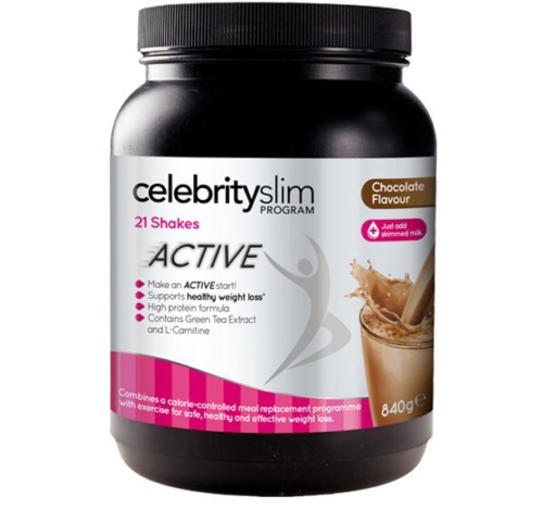 Celebrity Slim Active Shake Tub Chocolate