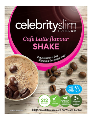 Celebrity Slim Cafe Latte Shakes