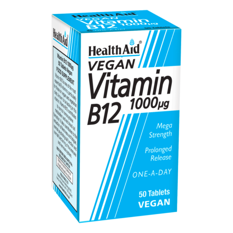HealthAid Vitamin B12 Tablets