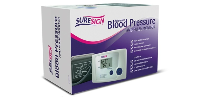 Suresign Blood Pressure Arm Monitor