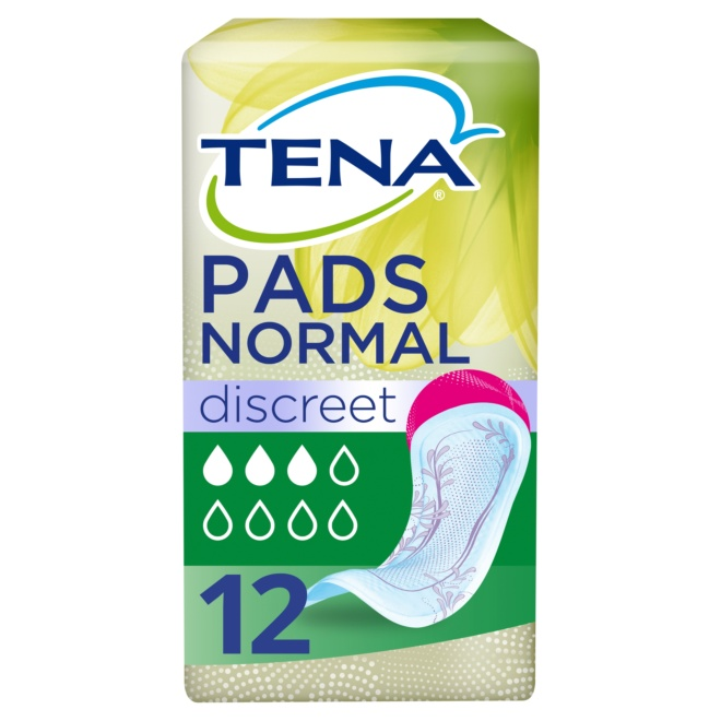 TENA Lady Discreet Normal Pads 12 Pack