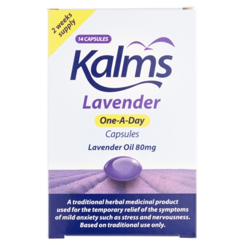Kalms Lavender One-A-Day Capsules