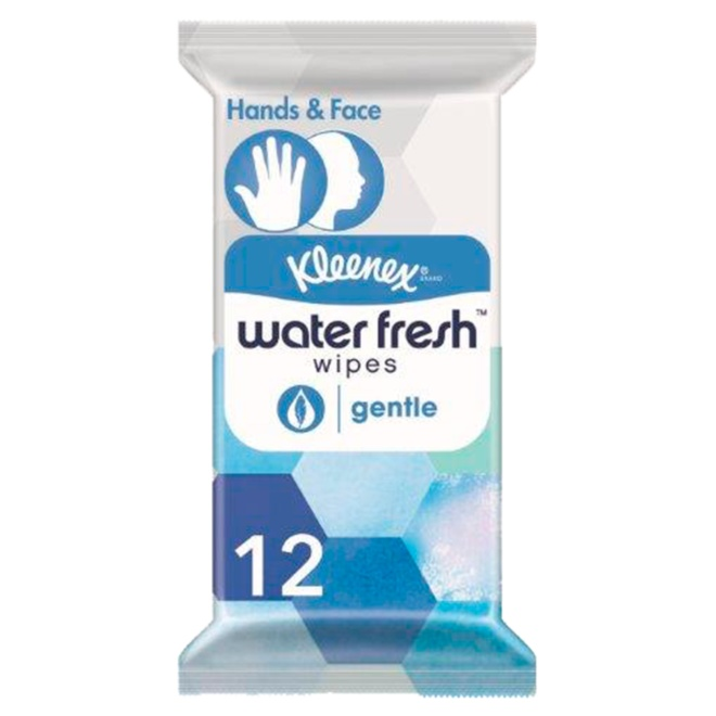 5029053571119 T1 Kleenex Water Fresh Gentle 12s