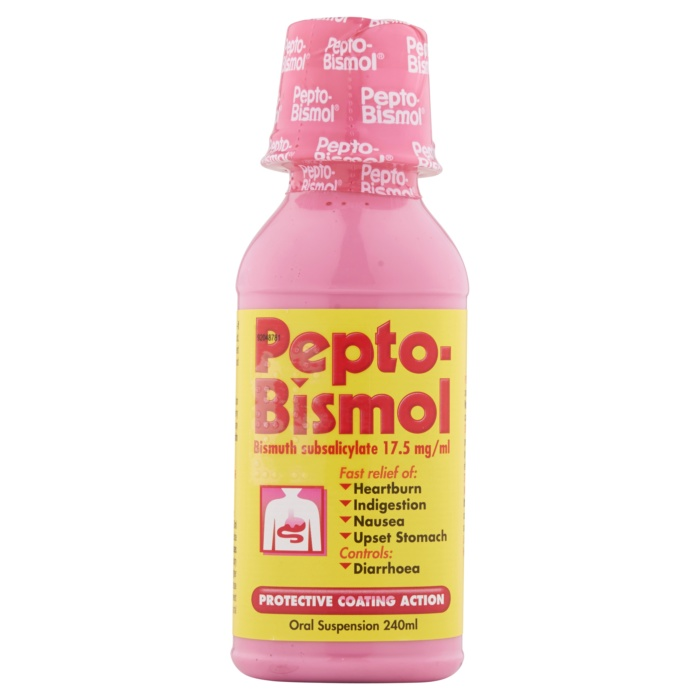 5000174901627 T70 Pepto Bismol Oral Suspension 240ml