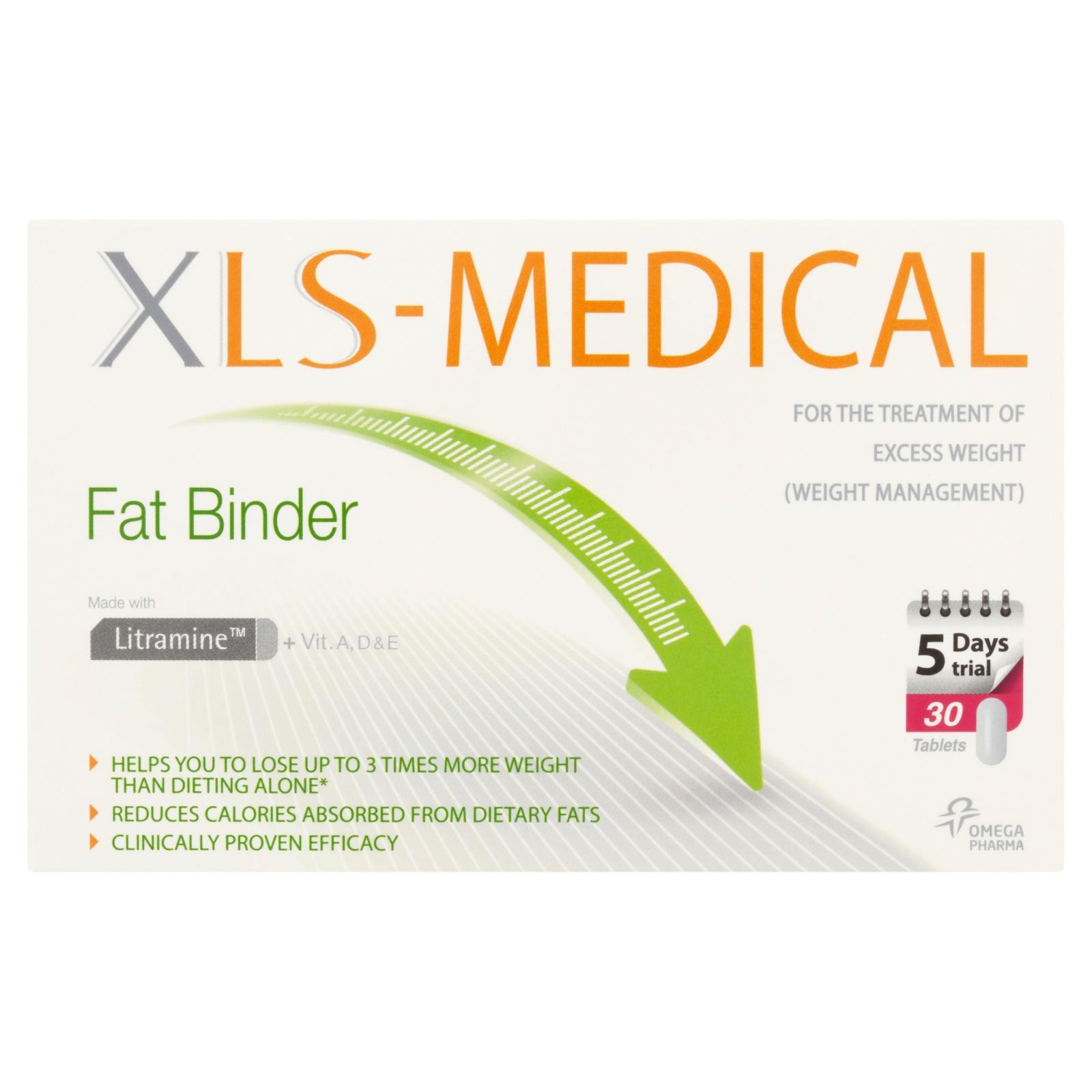 Xls Medical Fat Binder 5 Days Trial Pack 30 Tablets