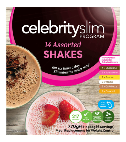 Celebrity Slim Assorted Shakes 7 day