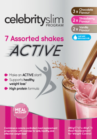 Celebrity Slim Active Assorted Pack