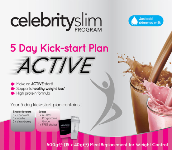 Celebrity Slim Active 5 Day Kick-Start Plan