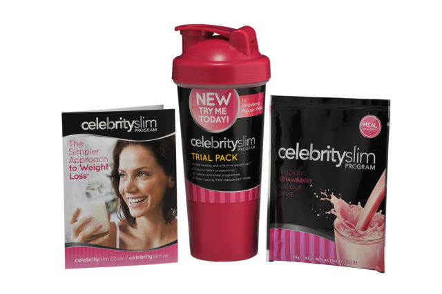 Celebrity Slim Shaker & Strawberry Pack