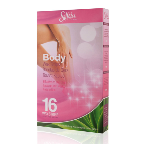 Silkia Body Wax Strips