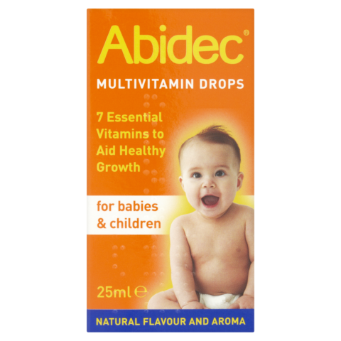 Abidec Multivitamin Drops for Babies & Children