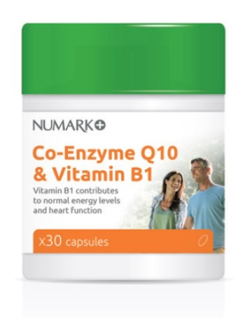 Numark Co-Enzyme Q10 & Vitamin B1 Capsules