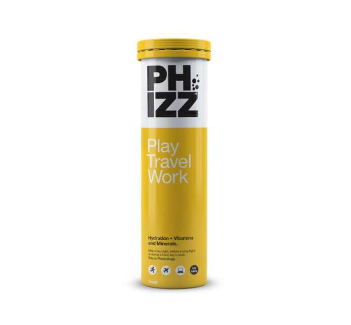 Phizz Orange 20s Product Shot Hydration Tabs